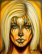 Fantasy Originals - Yellow Beauty by Tim  Scoggins