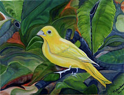 Yellow - Yellow Bird by Melanie Wadman