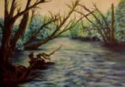 Joann Renner Art - Yellow Breeches Creek Pennsylvania by Joann Renner