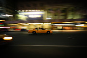 Euphoria Photography Framed Prints - Yellow Cab NYC Framed Print by Euphoria Photography
