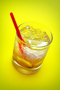 Alcohol Photos - Yellow Caipirinha by Carlos Caetano