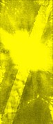 Yellow Cross Print by Brandi Webster