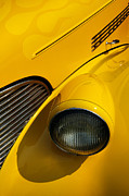 Custom Auto Photos - Yellow - D001178 by Daniel Dempster