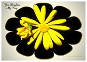Joyce Dickens - Yellow Daisy - You Brighten My Day
