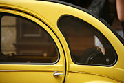 Old Car Door Photos - Yellow Deux Chevaux by Www.fbotros.com