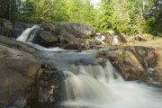 Waterfall Photography Posters - Yellow Dog Falls 3 Poster by Michael Peychich