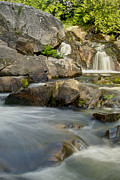 Fall Photographs Prints - Yellow Dog Falls 4246 Print by Michael Peychich