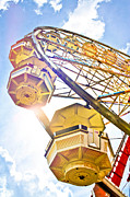 Eye Shutter To Think - Yellow Ferris Wheel From...