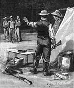 Fugitives Photo Prints - Yellow Fever, Shotgun Quarantine, 1888 Print by Science Source
