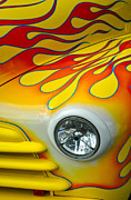 Custom Ford Originals - Yellow Flame by Dale Davis