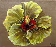 Susan McLean Gray - Yellow Hibiscus