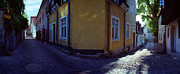 Europe Photo Originals - Yellow House Visby by Jan Faul