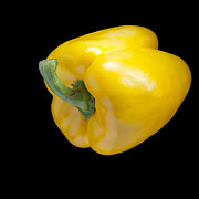 Goods Prints - Yellow Pepper Print by Heiko Koehrer-Wagner