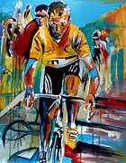 First Art Show - Yellow Race by John Gholson
