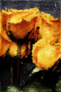 Betrayal Prints - Yellow Roses Print by Andrea Barbieri