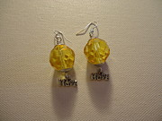 Earrings Jewelry - Yellow Spot of Hope by Jenna Green