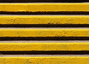 Steven Huszar Metal Prints - Yellow Steps Metal Print by Steven Huszar
