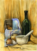 Tania Vasylenko - Yellow still life