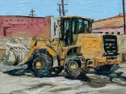 Machinery Originals - Yellow Truck 2 by Eul Hurley