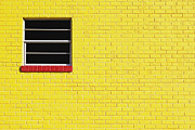 Avant Garde Photos - Yellow Wall 2 by Skip Nall