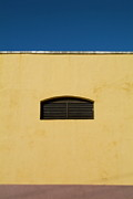 Yellow Wall In Trinidad Print by Sami Sarkis