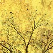 Yellow Wall Print by Skip Nall