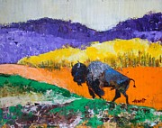 Bison Originals - Yellowstone Bison by Philip Hewitt