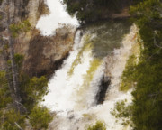 Yellowstone Falls Print by Jo-Anne Gazo-McKim