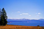 Yellowstone Photos Prints - Yellowstone Lake Print by Brent Parks