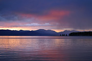 Bruce Gourley - Yellowstone Lake Sunrise...