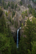 Roger Mullenhour - Yellowstone Waterfall