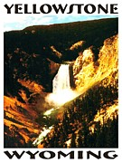 Photo-realism Digital Art - Yellowstone Wyoming Poster by Peter Art Prints Posters Gallery