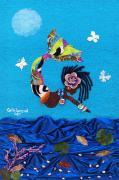 Yemeya Print by Carla J Lawson