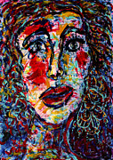 Big Lips Prints - Yenta Print by Natalie Holland