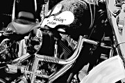 Harley Davidson Photos - Yes Its A Harley by Kenneth Mucke