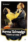 1920 Framed Prints - Yes Or No, Norma Talmadge, Lowell Framed Print by Everett