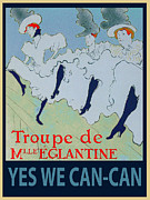 Yes We Can Posters - Yes We Can-Can Poster by Roy Kaelin