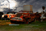 Jalopy Prints - Yesterday Came Early . Tomorrow Is Almost Over 2 Print by Wingsdomain Art and Photography