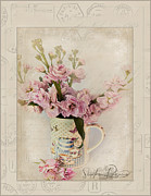 Pastel Art Prints - Yesterdays Letter  Print by Sandra Rossouw