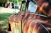 Rusted Cars Prints - Yesterdays Point of View Print by Lisa Moore