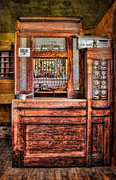 Reward Photo Prints - Yesterdays Post Office Print by Susan Candelario