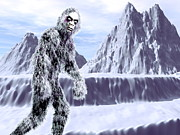 Yeti Prints - Yeti Print by Christian Darkin