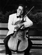 1980s Photo Prints - Yo-yo-ma (1955- ) Print by Granger