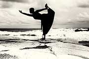 Pose Prints - Yoga Balance Print by Stylianos Kleanthous