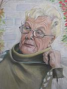 Head And Shoulders Pastels Prints - Yolanda portrait of a Lady Print by Melanie Bourne