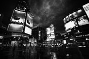 Large Scale Photo Prints - Yonge-dundas Square And The Eaton Centre At Night Toronto Ontario Canada Print by Joe Fox