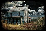 Dilapidated Digital Art Metal Prints - Yoooo Hooooo Metal Print by Lois Bryan