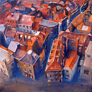 Uk Art - York Minster Yard by Neil McBride