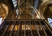 Towering Tree Prints - York Minster03 Print by Svetlana Sewell