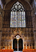 Towering Tree Prints - York Minster05 Print by Svetlana Sewell